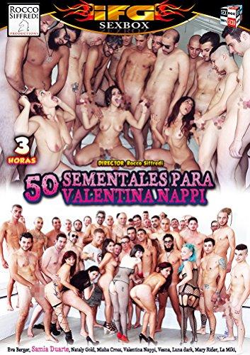 Linea DVD Porno speciale–50sementales per Valentina Nappi
