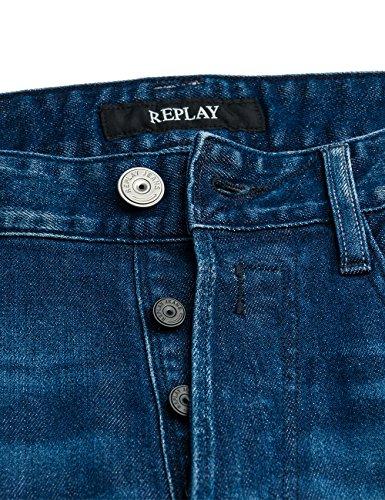 Replay Herren Jeanshose Newbill Blau (Blue Denim 7)