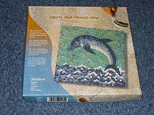 mosaic kit ,20x20cm, Dolphin