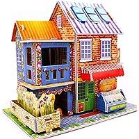 3D gruesa espuma Cartón Puzzle bricolaje Kit de artesanía/Modelo de edificio/Regalo/Kit de modelo Para niños # 32 - Peluches y Puzzles precios baratos