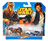 Hot Wheels Star Wars - Chewbacca & Han Solo 2 Pack by Hot Wheels