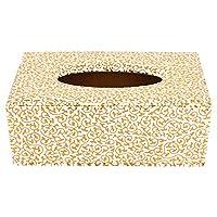 FABBiTY White gold leaf tissue box
