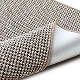 casa pura Teppich Grandeur | Pflegeleichtes Bouclé | viele Größen | für Flur, Wohnzimmer, Esszimmer, Küche, Schlafzimmer, Büro | gekettelt (Beige - 160x230 cm)