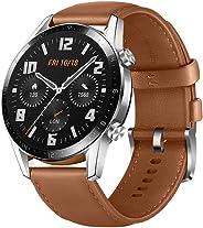 Huawei LTN-B19-BRN GT 2 Smart Watch Stainless Steel with Pebble - Brown (Pack of 1)