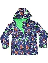 The Avengers Boys Marvel Avengers Soft Shell Jacket Childrens Hooded Coat