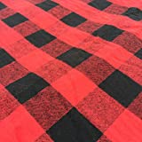 Buffalo Plaid outdoor blanket and boot liner with waterproof backing – 190 x 140 cm