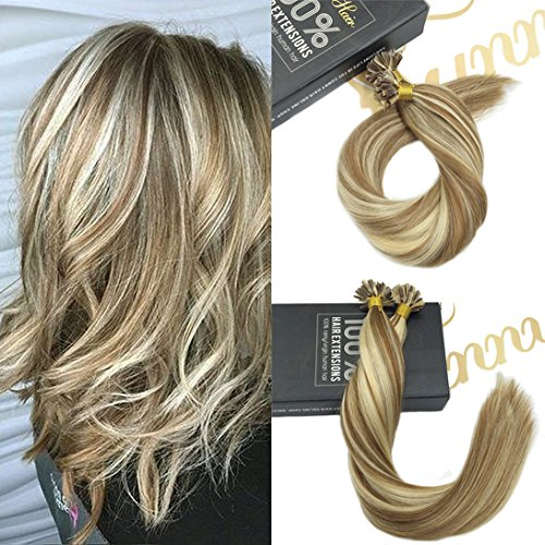 sunny-24zoll-60cm-extensions-keratin-cheveux-humano-remy-ombre-brun-avec-blond-u-tip-extensions-de-c