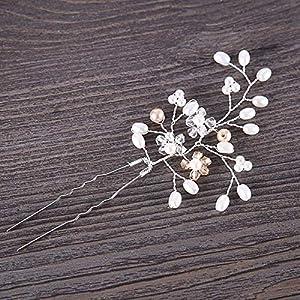 Augneveres 5 Pcs Crystal Haarspangen Zubehör Für Hochzeit, Tanzparty Oder Kopfbedeckung Für Den Täglichen Gebrauch, Um Sie Ihren Liebenden Oder Müttern Zu Schenken