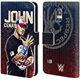 Official WWE John Cena Superstars Leather Book Wallet Case Cover For Samsung Galaxy S5 mini