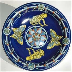 Bopla! Rana Soucoupe en porcelaine de Langenthal pour tassé à café Bleu 16cm