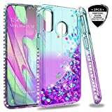 LeYi Galaxy A40 Case with Tempered Glass Screen Protector