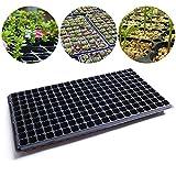 #10: Pinkdose Durable 200 Holes Seedling Tray Garden Pots Planters Block Cassette Tray Plastic Nursery Pot Planting Trays