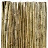 EV Arella Canna Passante in Bamboo Marrone Filo passante recinzioni ombra esterno 100x300 cm