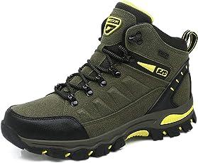 BIGU Wanderschuhe Trekking Schuhe Herren Damen Wasserdichte Wanderstiefel Sports Outdoor Gleitsicher Leichte Bequeme Trekking Halbschuhe
