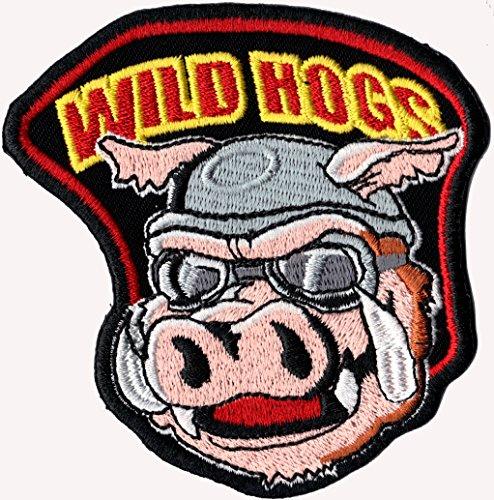 Wild Hogs Wildschwein Motorcycle Movie MC biker Patch Aufnäher Aufbügler -