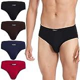 Molasus Men's Underwear Ultra Soft Modal Microfiber Hip Briefs Underpants