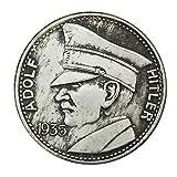 Eqerlian Silber Dollar Silbermünze Sammlung Weiß Kupfer Silbermünze Deutschland 1935 Münze