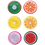 6 Pack Crystal Fruit Slime Putty Putty Scented Clay Toys Children Kids Clay Mud Slime Kits For Crafts Party Props