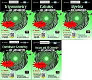 Cengage JEE Advanced Maths for 2021 - Set of 5 Books - Latest Revised Editions