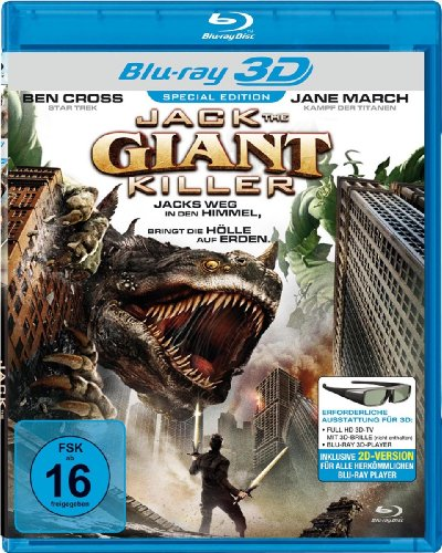 Bild von Jack the Giant Killer [Blu-ray 3D] [Special Edition]