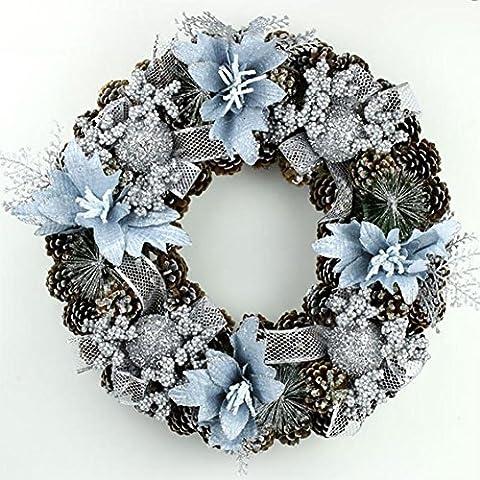 YUYU Decoraciones de Navidad de lujo regalos de moda de Navidad guirnalda Hotel pino , 1