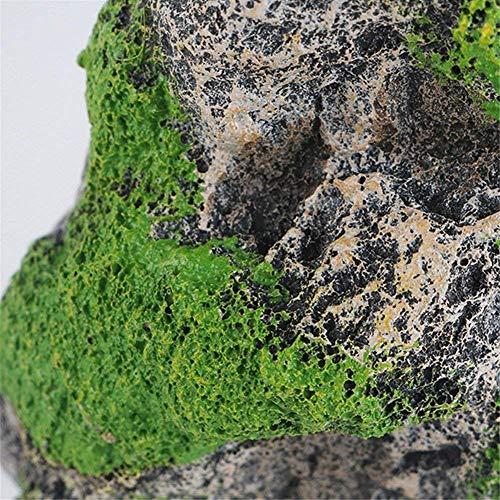 Kunstharz Künstliche Aquarium schwimmende Moos Stein Rocks Dekoration für Fish Tank Landschaft -