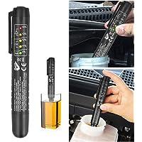innislink Testeur de Liquide Frein, Stylo testeur de liquide de frein avec 5 indicateurs LED Test Pen Automobile Outil…