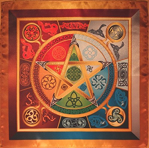 Wicca magic tablecloth Force 5 Lyrics - Magic Power Wiccan magic Small...