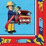 Fireman Sam Party Napkins (20pk)