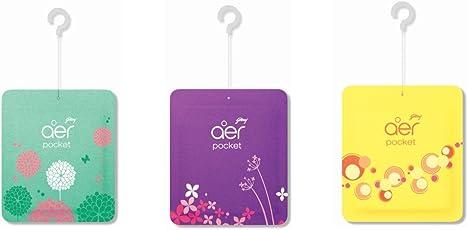Godrej Aer Pocket(Multicolour) - Pack of 6