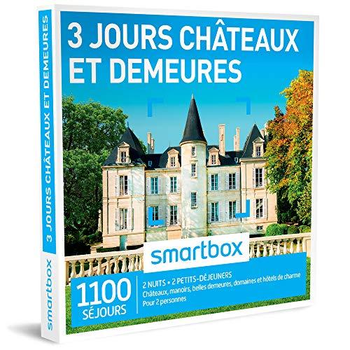 SMARTBOX - Coffret Cadeau - 3 JOURS CHÂTEAUX & DEMEURES - 425 séjours : châteaux,...