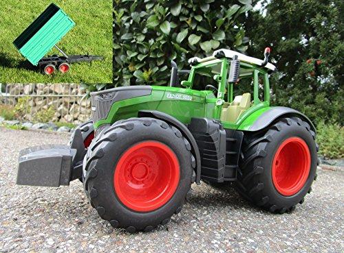 RC Traktor Fendt 1050 Vario mit Bordwandanhänger -ca 80 cm 1:16