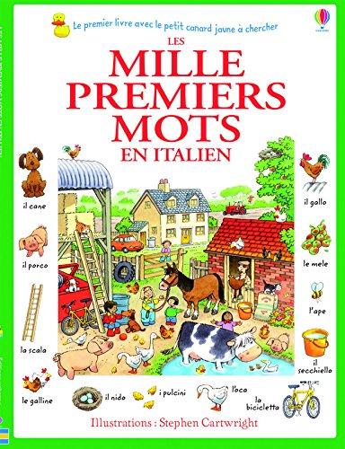 Les mille premiers mots en italien (vert)