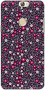 The Racoon Lean printed designer hard back mobile phone case cover for Coolpad Max. (Night Dais)