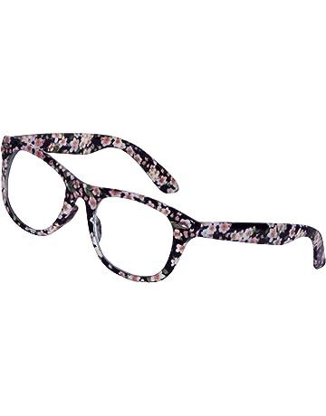 07465fa9f Lensport Eyewear Flower Printed Spectacle Frame Google Girls and Boy's  Eyeglasses/Sunglasses (Clear Lens