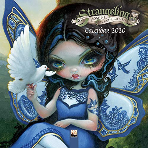 Jasmine Becket-Griffith Mini Wall Calendar 2020 (Art Calendar) -