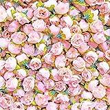 Deko-Light Pink-Rose Bud synthetik Blumen