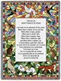 St Francis of Assisi Throw - 70 x 53 Blanket/Throw by Pure Country