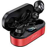 pTron Bassbuds Plus in-Ear True Wireless Stereo Headphones with Mic, Deep Bass TWS Earbuds, Made in India Bluetooth Earphones
