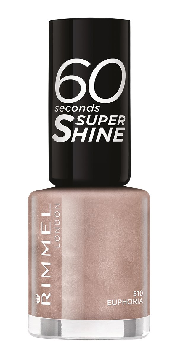 Rimmel 60 Seconds Super Shine Nail Polish - 8 ml, Euphoria ...