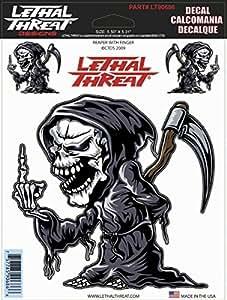 Lethal Threat Moto Voiture Planche Casque Autocollant Sticker LT90686 [Divers]