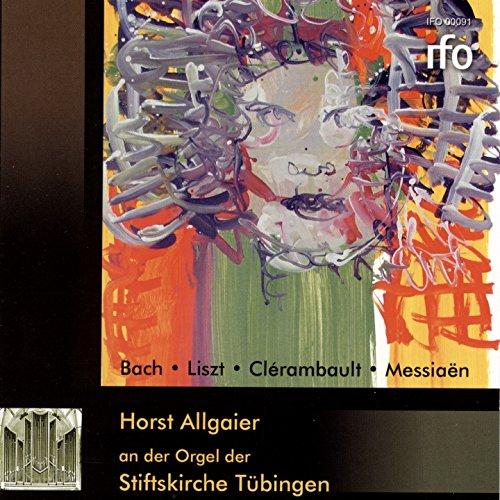 Horst Allgaier an der Orgel der Stiftskirche Tübingen