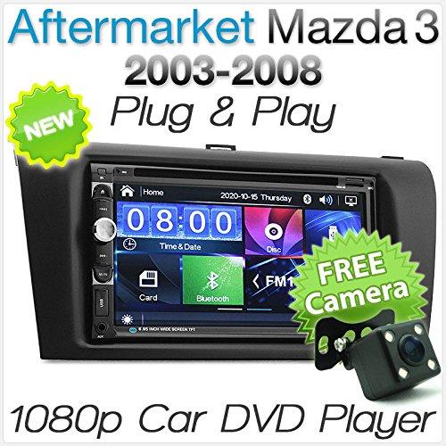 USB MP3 AUX SD CD Bluetooth kit mains libres Interface Adaptateur autoradio pour mod/èles de voiture Mazda 3 5 6 CX-5 CX-7 RX-8 marque Electronicx