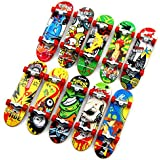 St.Mandyu 10 Pcs Professional Mini Fingerboards Finger Skateboard With Non-slip Pad