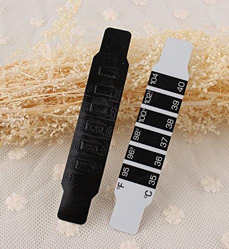 DaHanBL Kinder-Test Temperatur Stirnband Thermometer Fieber