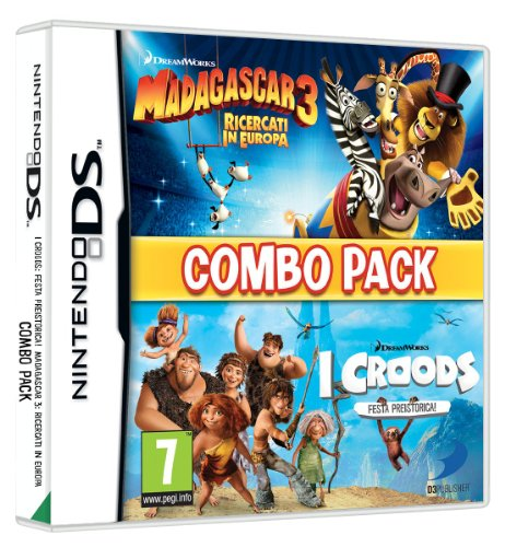 DS MADAGASCAR 3 THE CROODS PREHISTO (Madagascar 3 Nintendo Ds)