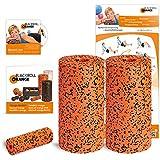 Blackroll Orange (Das Original) - DIE Selbstmassagerolle - Twin-Set PRO (inkl. Übungs-DVD, -Poster und -Booklet)