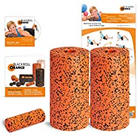 Blackroll Orange (Das Original) - DIE Selbstmassagerolle - Twin-Set PRO (inkl. Übungs-DVD, -Poster und -Booklet)