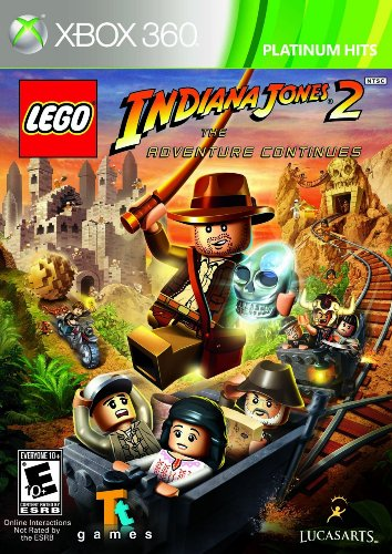 Lego Indiana Jones 2 XBOX 360 [Englisch] - Jones Indiana Lego Xbox