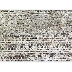 murando - Papier peint intissé 500x280 cm - Papier peint - Trompe l oeil - Tableaux muraux- déco - Texture Brique Mur f-A-0457-a-a